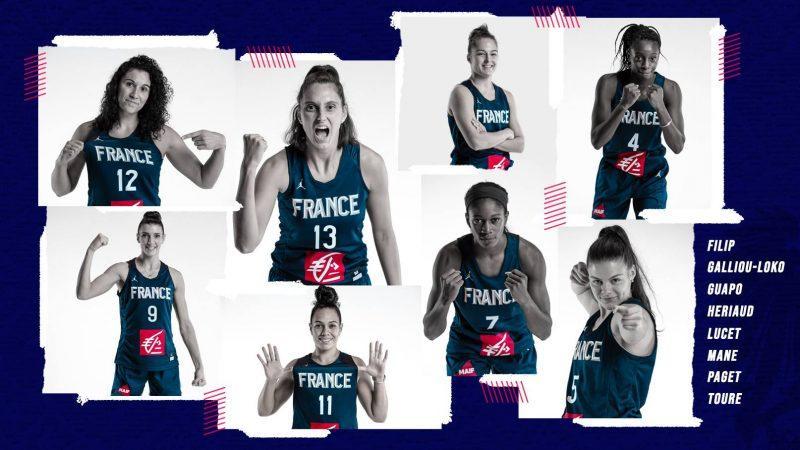 Equipe de France féminine 3×3 : 8 joueuses pré-sélectionnées pour le TQO |  Basket Europe