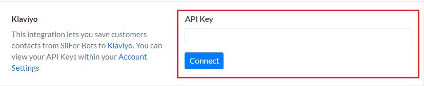 SilFer Bots API Key