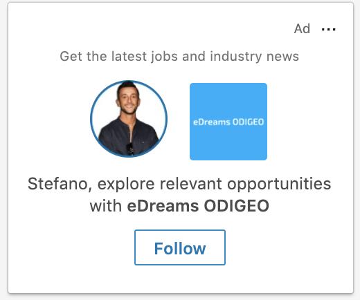 annunci dinamici LinkedIn