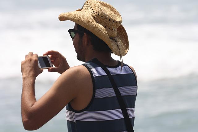 Fotógrafo, Praia, Turista