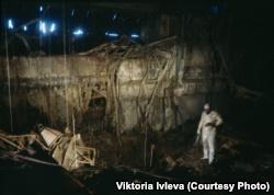 Внутри Чернобыльской АЭС после взрыва. Фотография Виктории Ивлевой