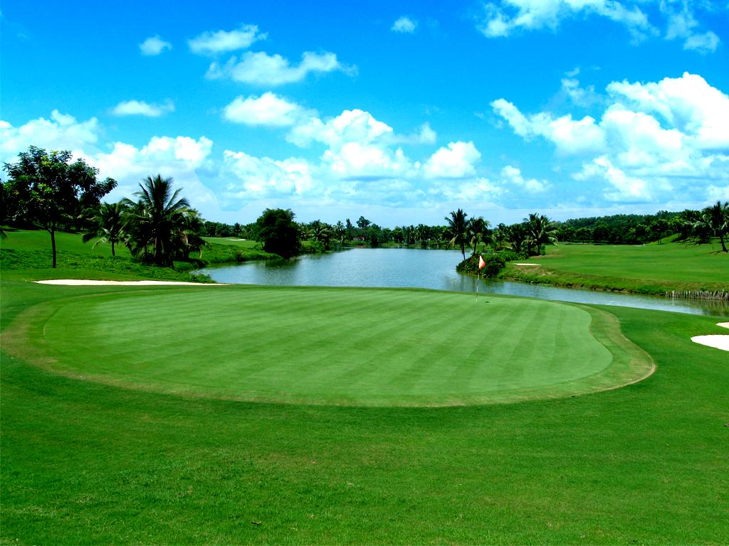 Sân golf tại miền Nam