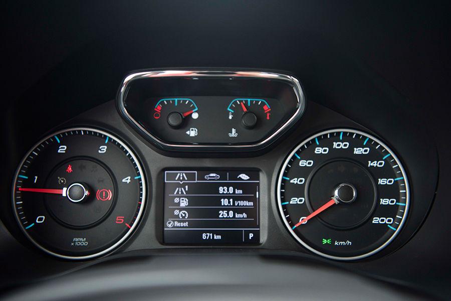 Chevrolet được trang bị với khả năng kiểm soát hành trình, cảm biến đỗ xe phía trước, cảm biến đỗ xe phía sau