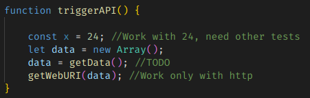 Comment in code: a bad example