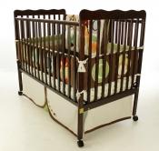 Classic Convertible Crib in Espresso - 675E