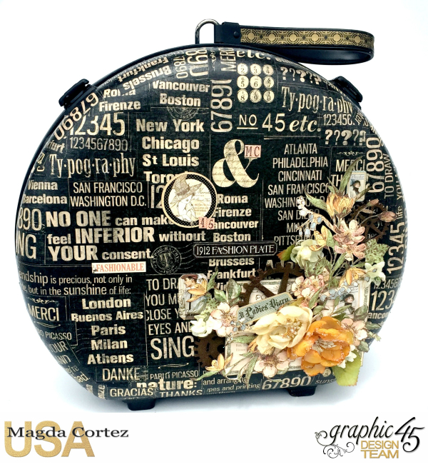 DIY Collage.jpgDIY Vintage Suitcase-A Ladies Diary- Magda Cortez - Graphic 45- Tutorial- 01 of 11