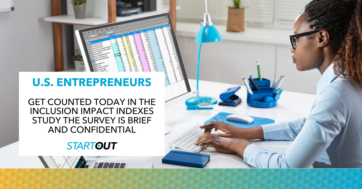 Startout inclusion impact indexes survey graphic