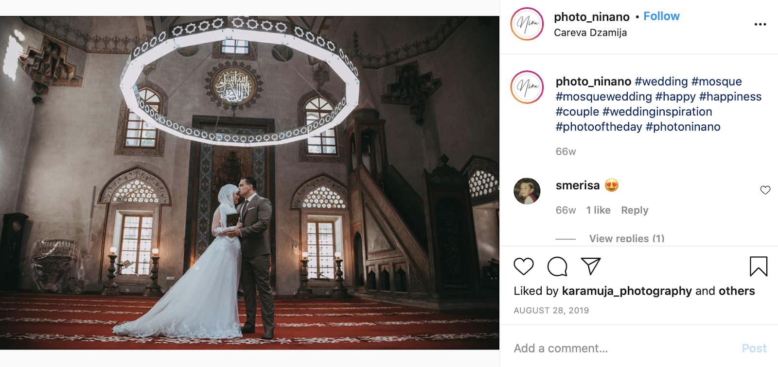 dress code at an Islamic wedding
