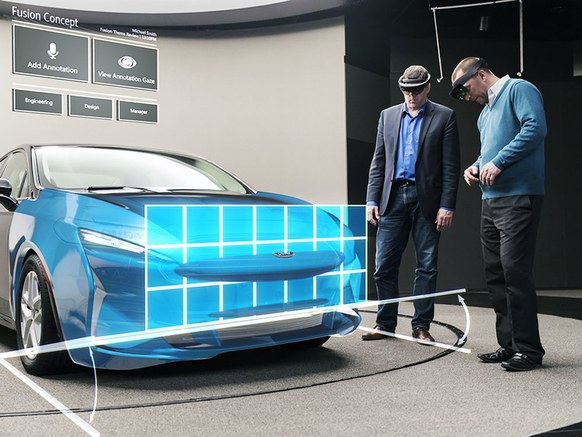 A Major Manufacturer Has Begun Designing Its Cars Using Augmented Reality