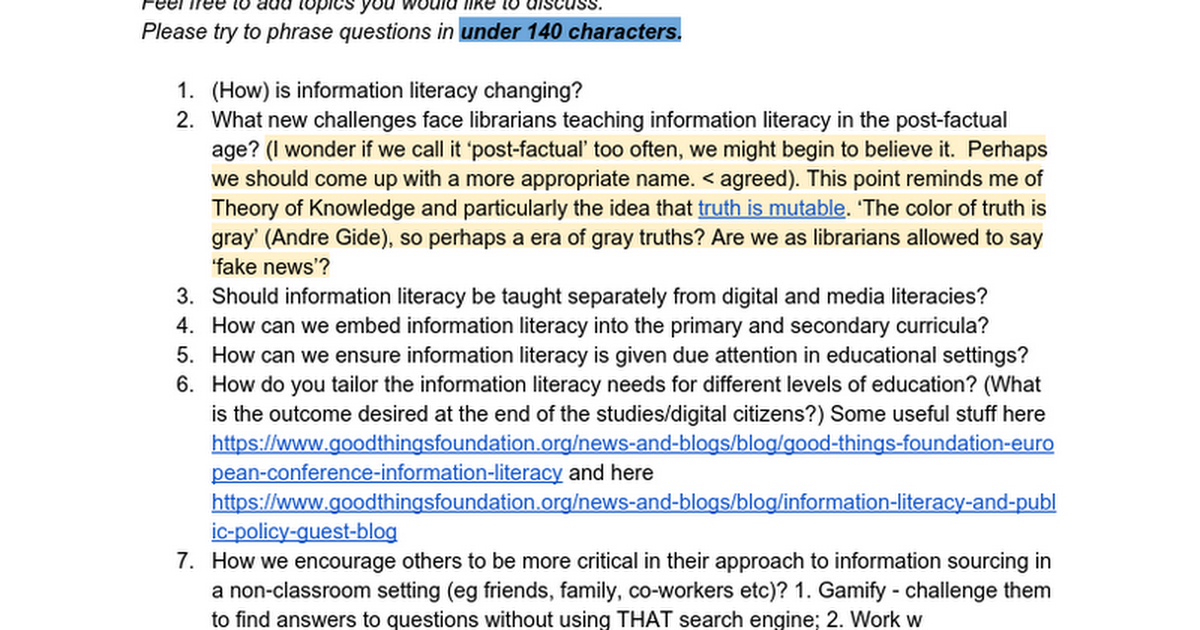 Thumbnail for 2017-02-07 Information Literacy