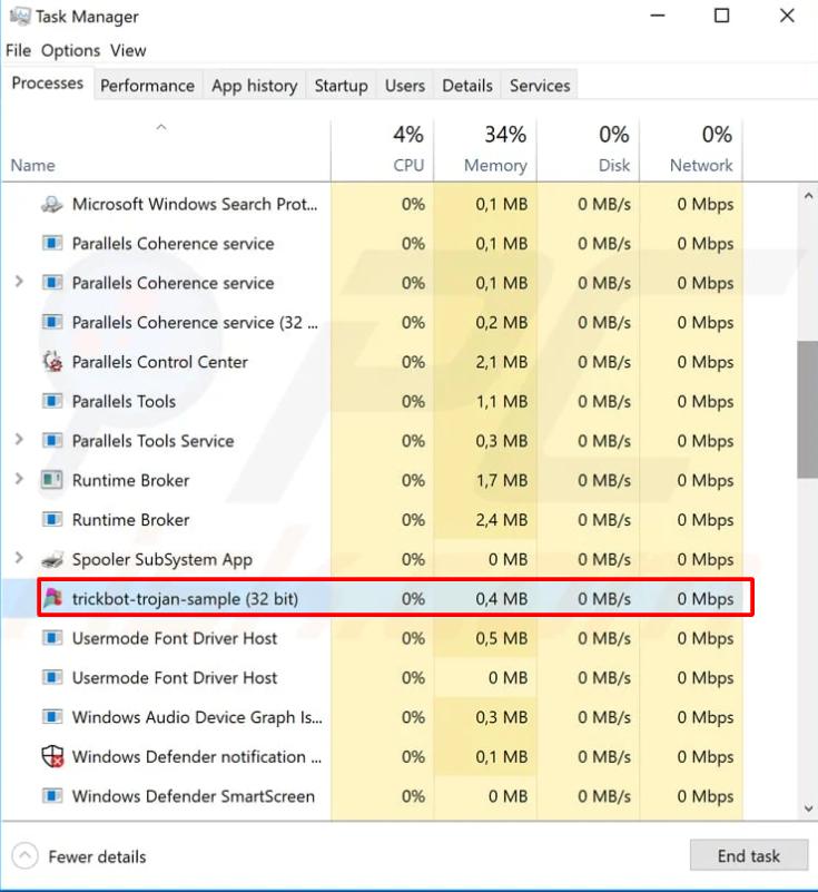 suspicious file om your PC