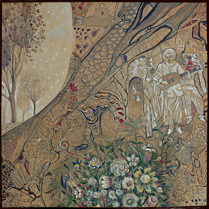 """""""It's All Crazy! It's All False! It's All A Dream! It's Alright"""" album cover by mewithoutYou"""