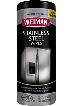 Weiman Wipes Stainless Steel Cleaner