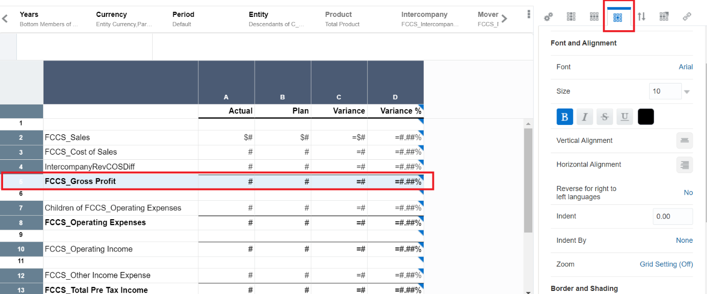Qubix Oracle Product Updates Blog - Reports in Oracle EPM Cloud