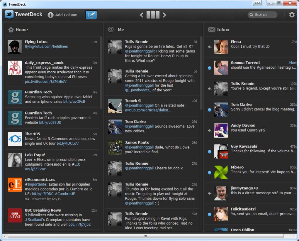 tweetdeck ne işe yarar