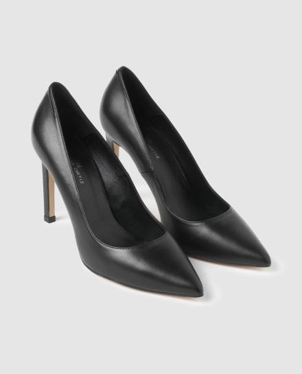Zapatos de salón de mujer Gloria Ortiz de piel en color negro