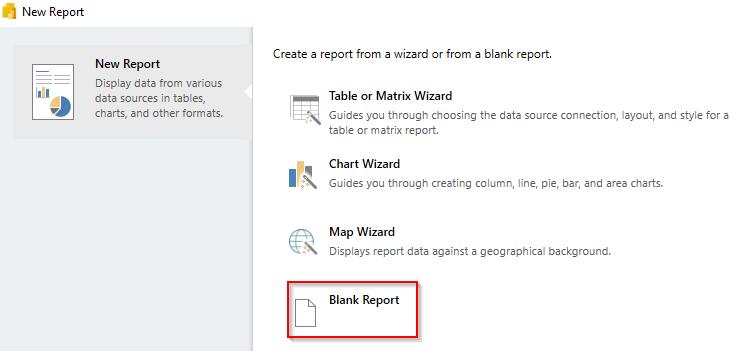 Paginated Reports using Power BI Report Builder Step 1