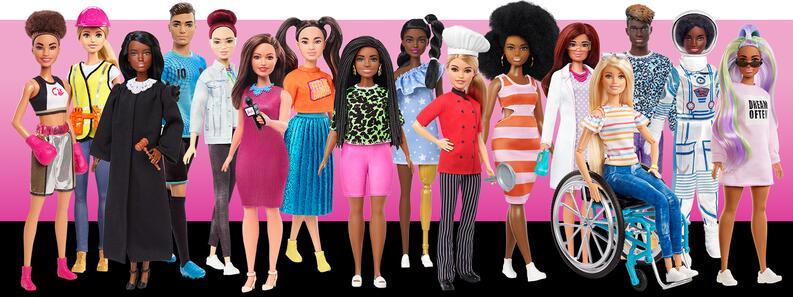 barbie fashionistas represntacion diversidad barbies afro morenas latinas curvy petite