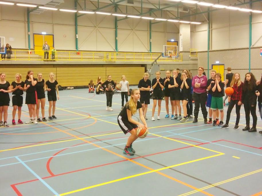 Finale Schoolbasketbal 2015