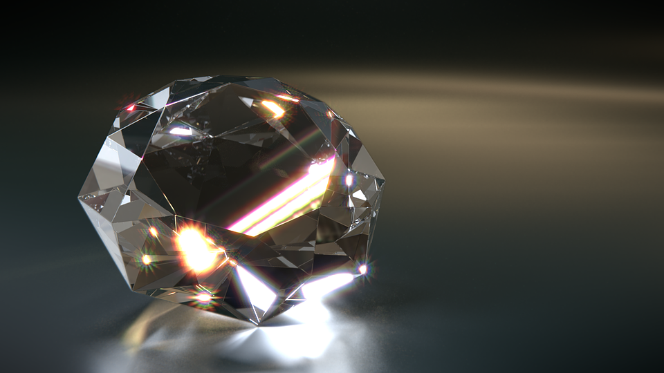 Diamond, Gem, 3D, Sparkle, Gloss, Shining, Expensive