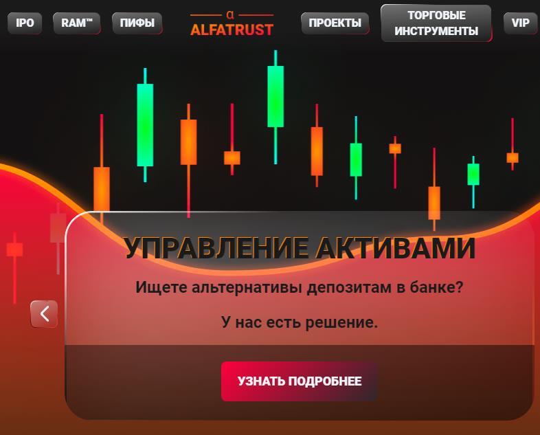 Отзывы об ALFATRUST и основная информация о компании реальные отзывы