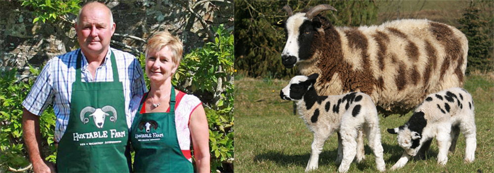 Come and meet Jackie and Antony at Huxtable Farm, North Devon.