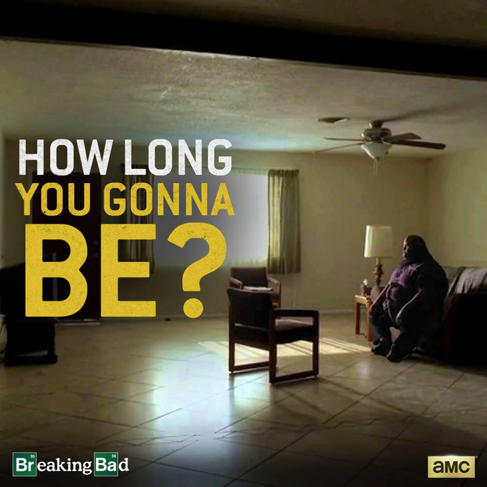 Poor duped Huell: 'the one who waits'