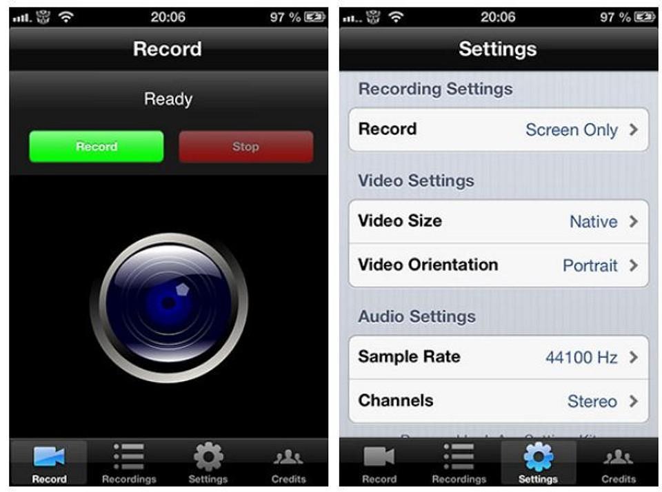 Приложение RecordMyScreen