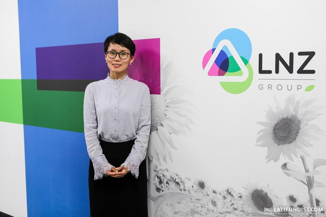 Синди Лу, генеральный менеджер Qingfeng Branch