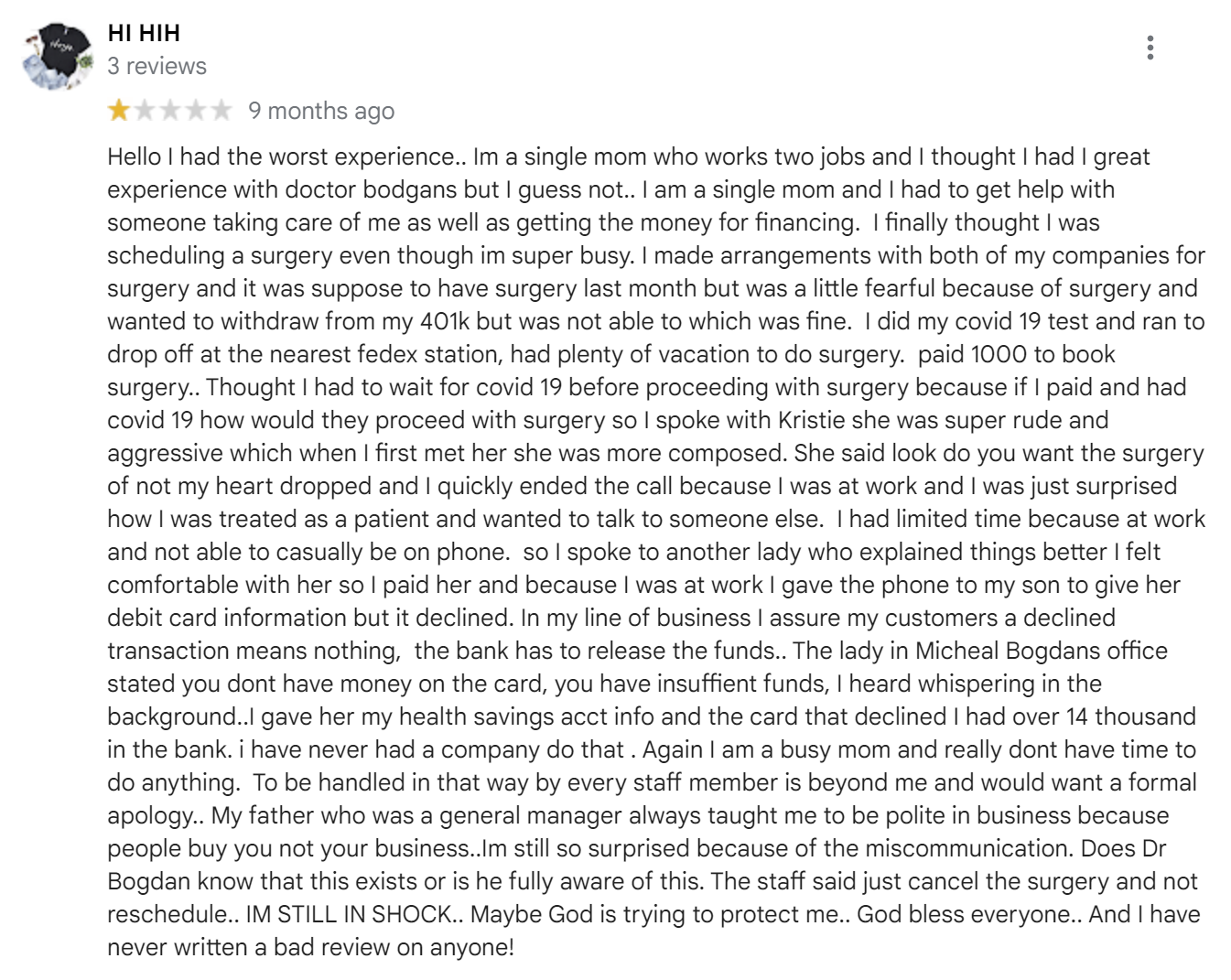 2301 Plastic Surgery review