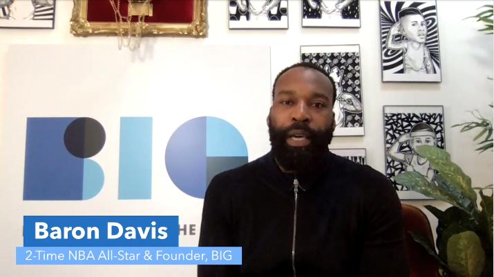 2-Time NBA All-Star & BIG Founder Baron Davis.