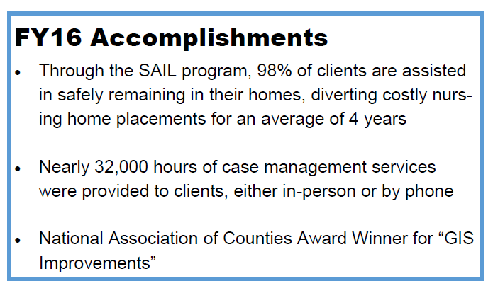 FY16 Accomplishments