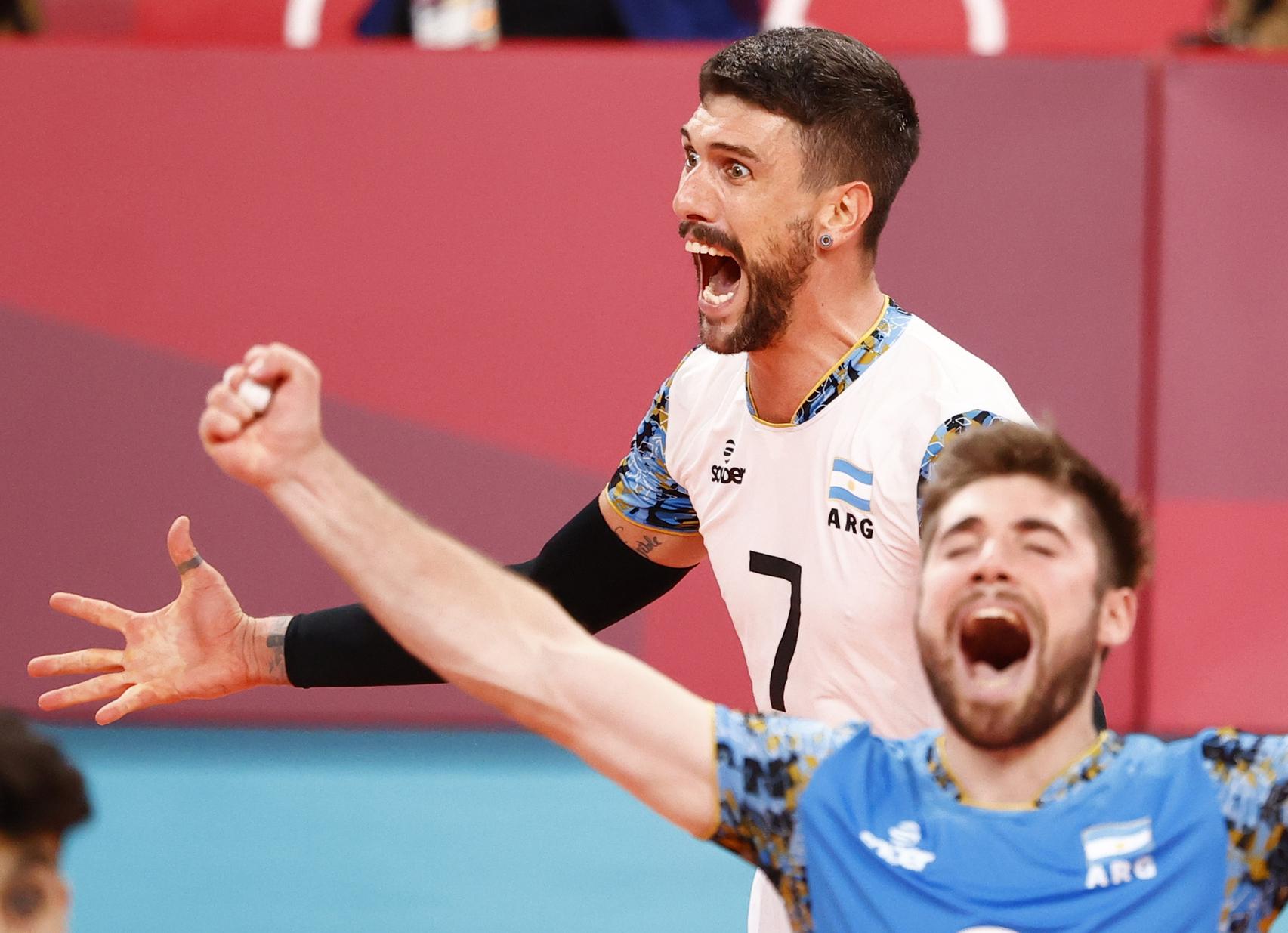 Ở Thế vận hội Tokyo, đội tuyển bóng chuyền Argentina đã thể hiện rất tốt