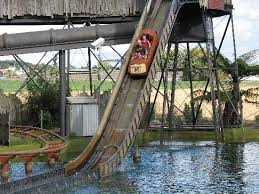 Image result for rainbows end log flume