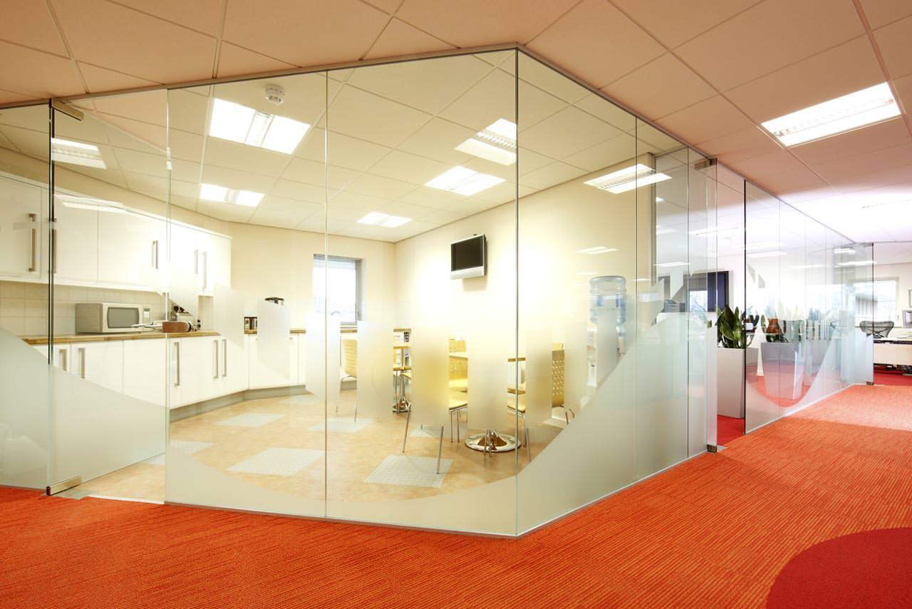 How Can Office Glass Partitions Be Beneficial To You Fauxwood