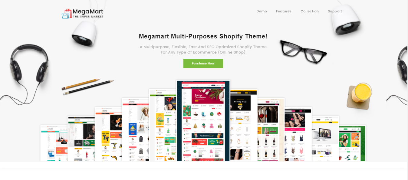 Mega Mart - Crafts Shopify Theme