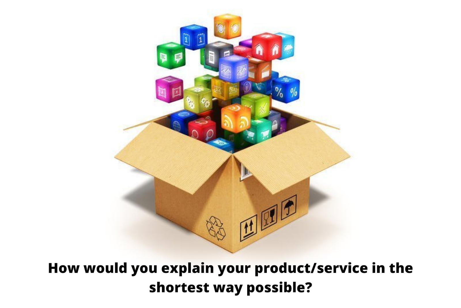 your offering product or services