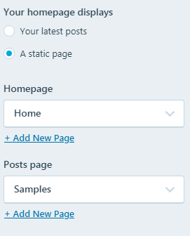 how to create a static homepage for your new seo website