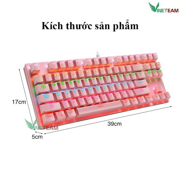 Bàn phím Vietnet K550- Một sản phẩm của Vinetteam