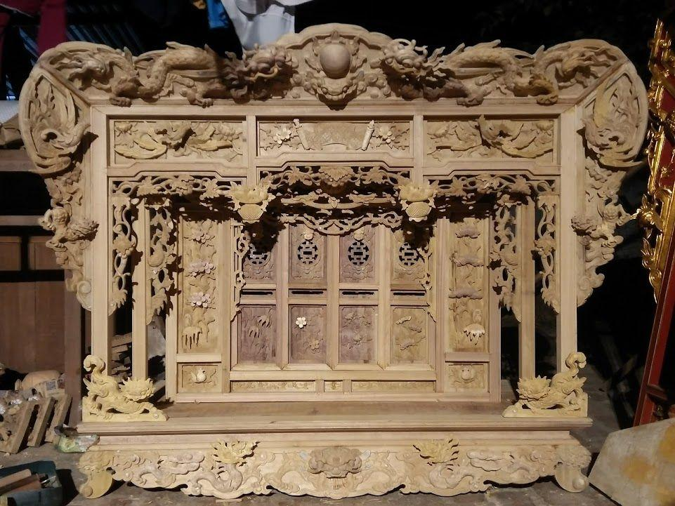 Khám thờ gỗ đẹp
