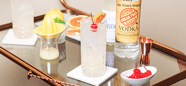 A Low-Sugar Version Of A Classic Cocktail