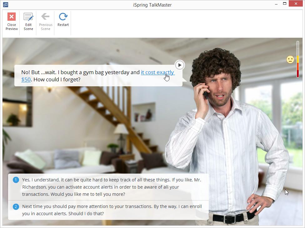 Hyperlink in TalkMaster