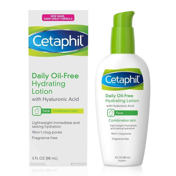 2. Cetaphil Oil-Free Hydrating Lotion