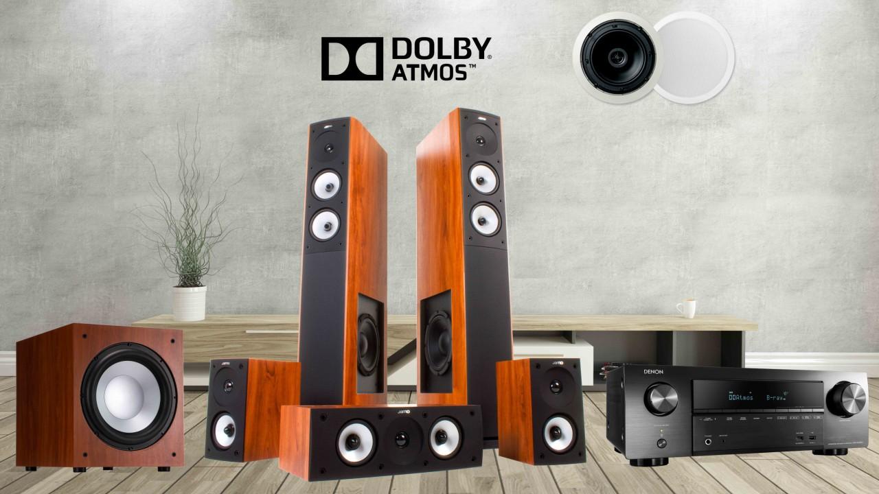 Dàn âm thanh Dolby Atmos 5.1.2 kênh giá rẻ bất ngờ, âm thanh cực hay