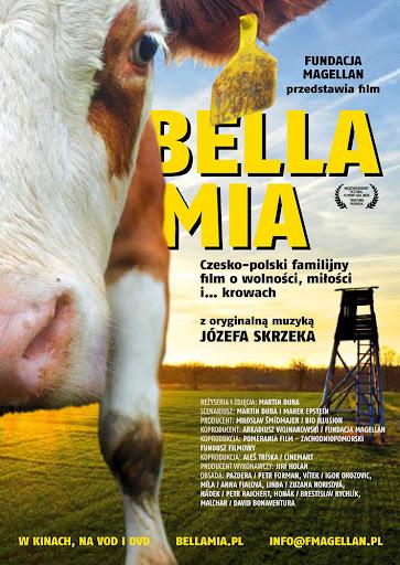 Przód ulotki filmu 'Bella Mia'