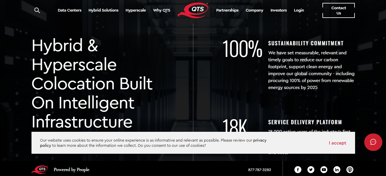 QTS is a Data Center provider