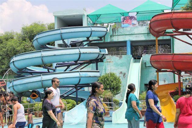 water rides Splash Water Park Hisar