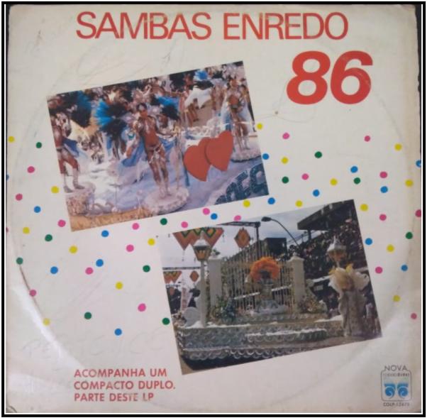LP de 1986 - Acervo de João Perigo