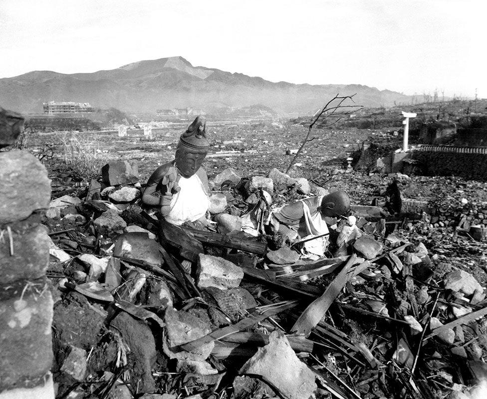 Нагасакі після бомбардування