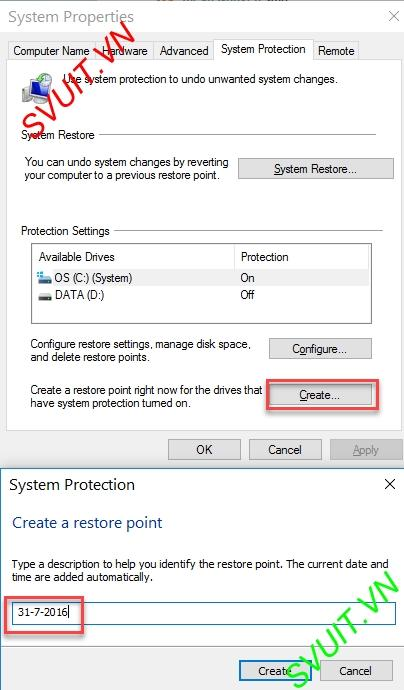 create restore point windows 10(6)